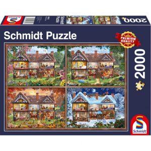Schmidt House of Four Seasons Jigsaw