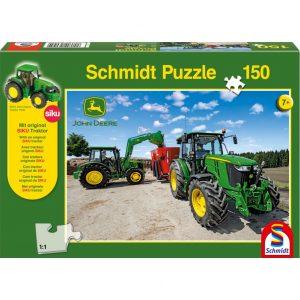 Schmidt John Deere 5M Series Tractors Children's Jigsaw
