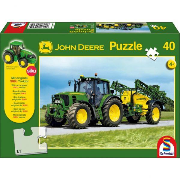 Schmidt John Deere 6630 Tractor with Sprayer Children's Jigsaw