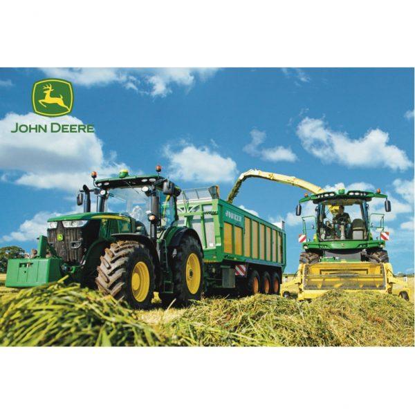 Schmidt John Deere 7310R Tractor with 8600i Harvester Children's Jigsaw