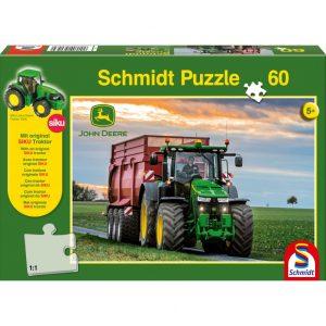 Schmidt John Deere 8370R Tractor Children's Jigsaw