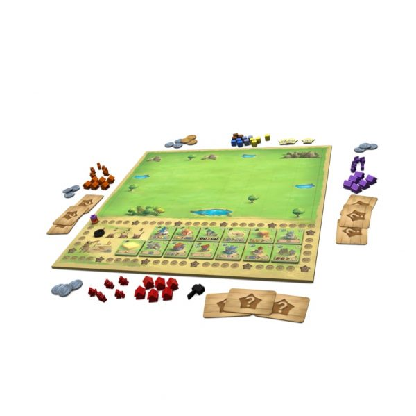 Little Town Strategy Board Game