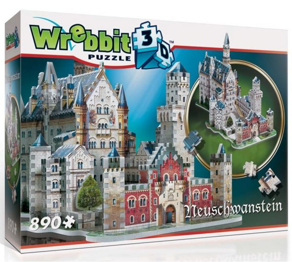 Wrebbit 3D Neuschwanstein Castle Puzzle