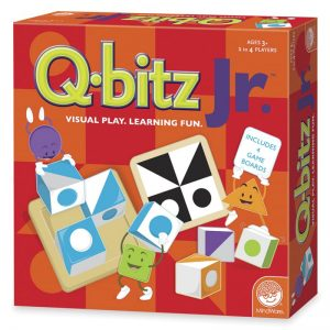 Q-bitz Junior Children's Board Game