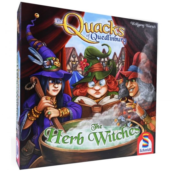 Quacks of Quedlinburg Herb Witches Strategy Board Game