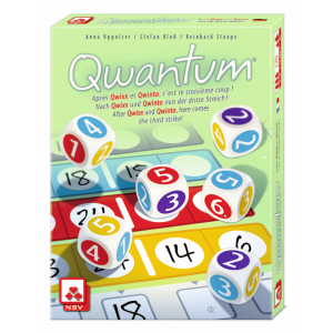 Qwantum Strategy Board Game