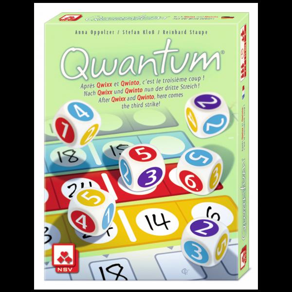 Qwantum Strategy Board Game