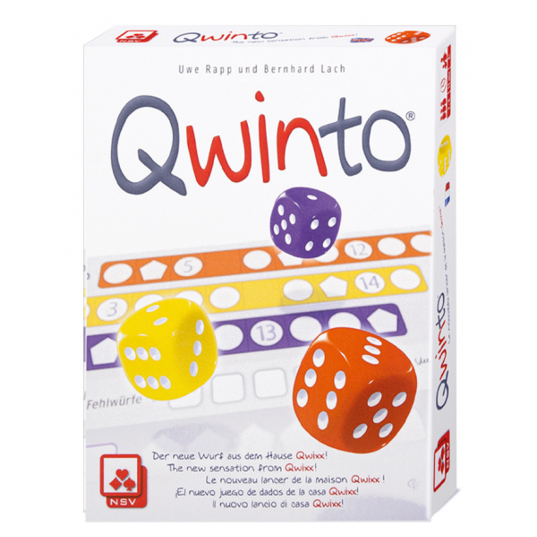 qwinto strategy board game