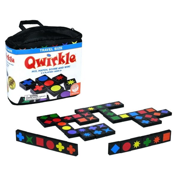 Qwirkle Travel Family Board Game