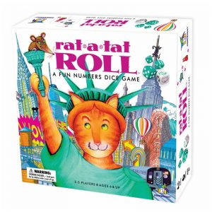 Rat-a-Tat Roll Children's Board Game