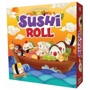 Sushi Roll Family Board Game