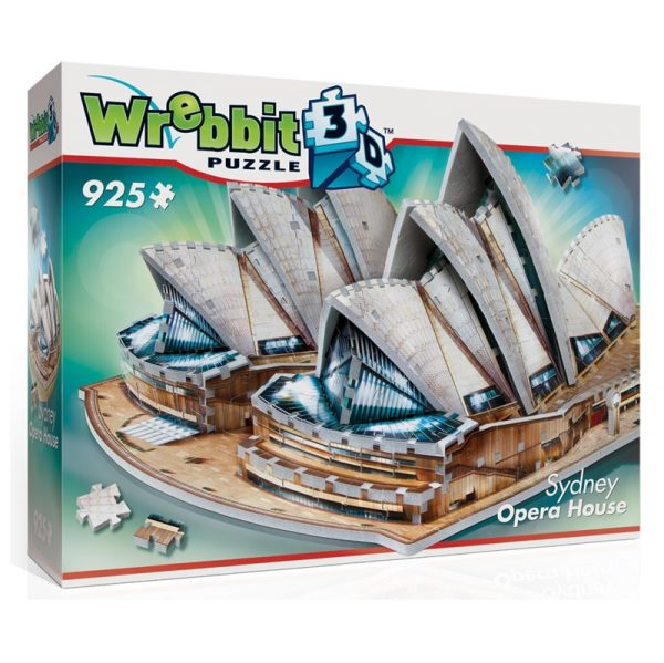 Wrebbit 3D Sydney Opera House Puzzle