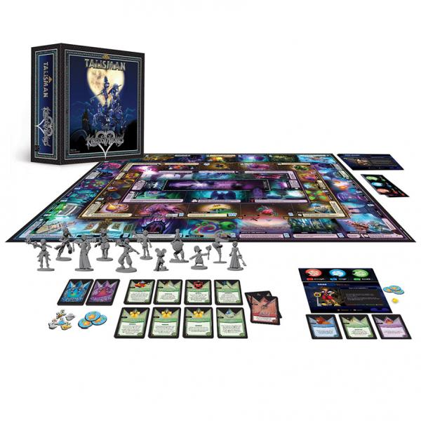 Talisman Disney Kingdom Hearts Strategy Board Game