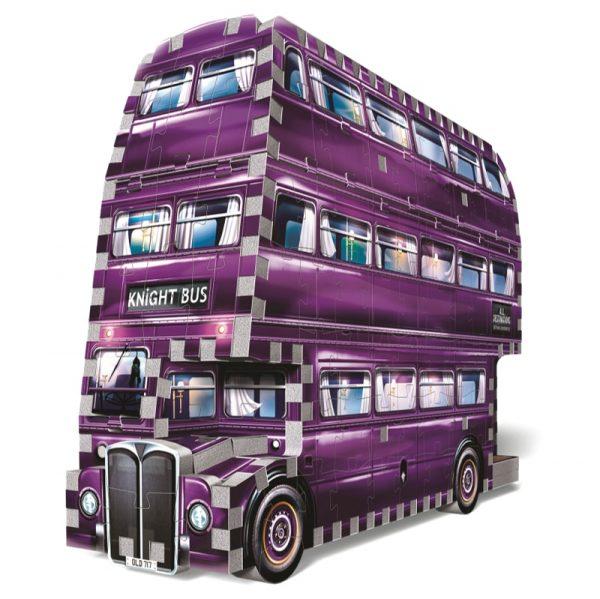Wrebbit 3D Harry Potter Knight Bus Puzzle