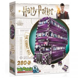 Wrebbit 3D Harry Potter Knight Bus Puzzle