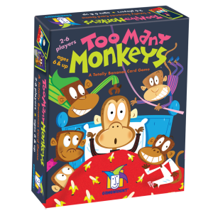 Too Many Monkeys Card Games