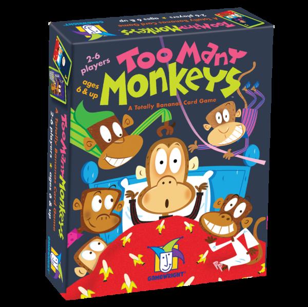 Too Many Monkeys Card Games
