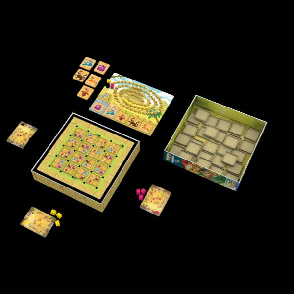 Uxmal Strategy Board Game