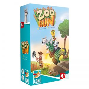 Zoo Run Children's Board Game