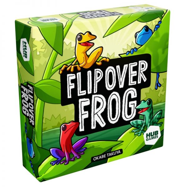 Flip over Frog Family Board Game
