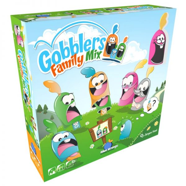 Gobblers Family Mix Family Board Game