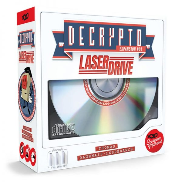 Decrypto Laserdrive Expansion Party Game