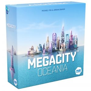MegaCity Strategy Board Game
