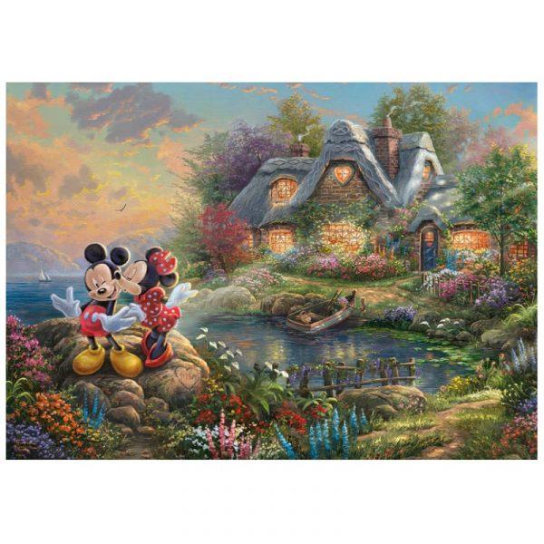 Thomas Kinkade Disney Mickey Mouse Jigsaw
