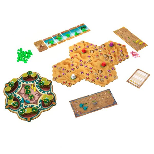 Ishtar Strategy Board Game