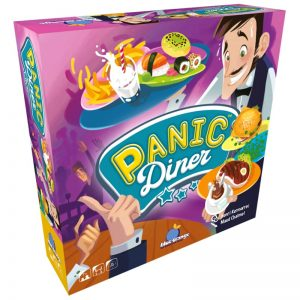 Panic Diner Family Board Game