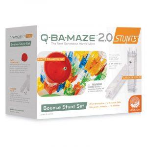 Q-BA-Maze Bounce Stunt Set Puzzle