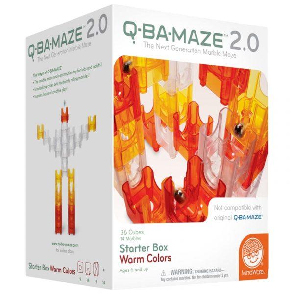 Q-BA-Maze Warm Puzzle