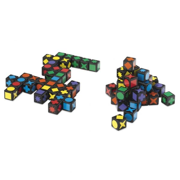 Qwirkle Cubes Family Board Game