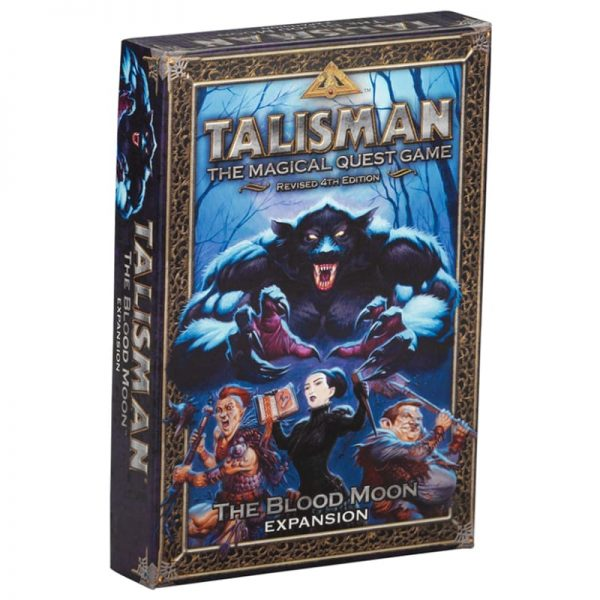 Talisman Blood Moon Expansion Strategy Board Game