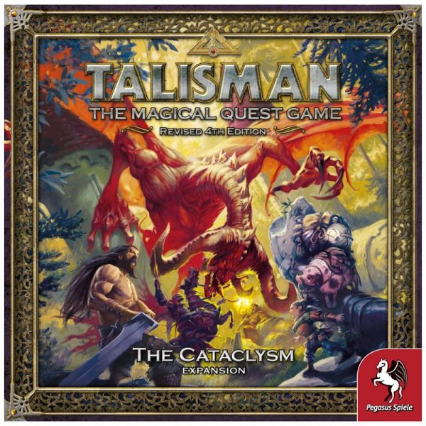 Talisman Cataclysm Expansion Strategy Board Game