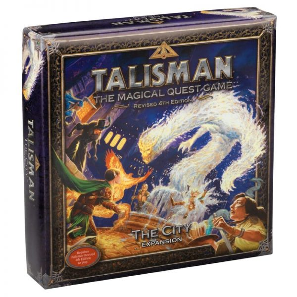 Talisman City Expansion Strategy Board Game