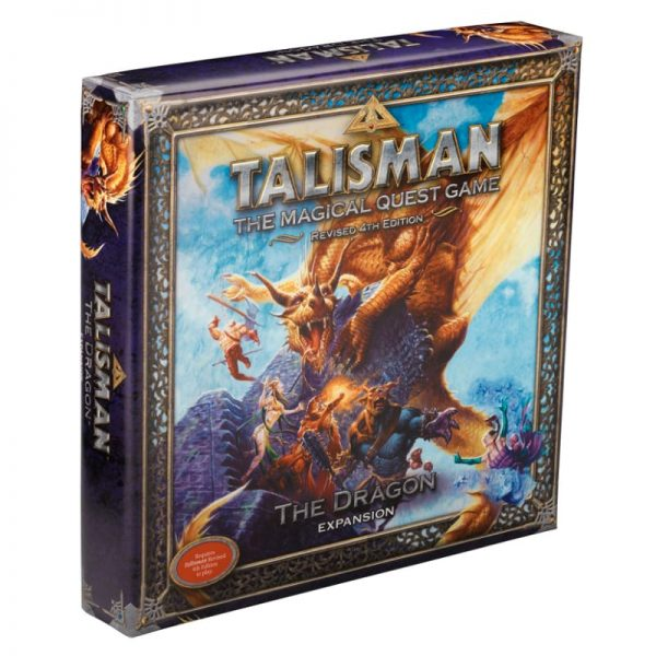 Talisman Dragon Expansion Strategy Board Game