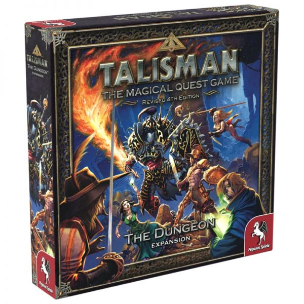 Talisman Dungeon Expansion Strategy Board Game