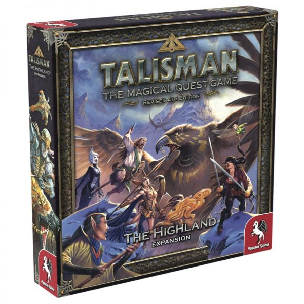 Talisman Highland Expansion Strategy Board Game