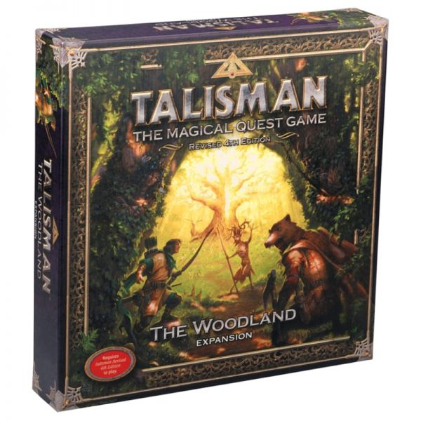 Talisman Woodland Expansion Strategy Board Game