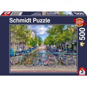 Spring time in Amsterdam Jigsaw