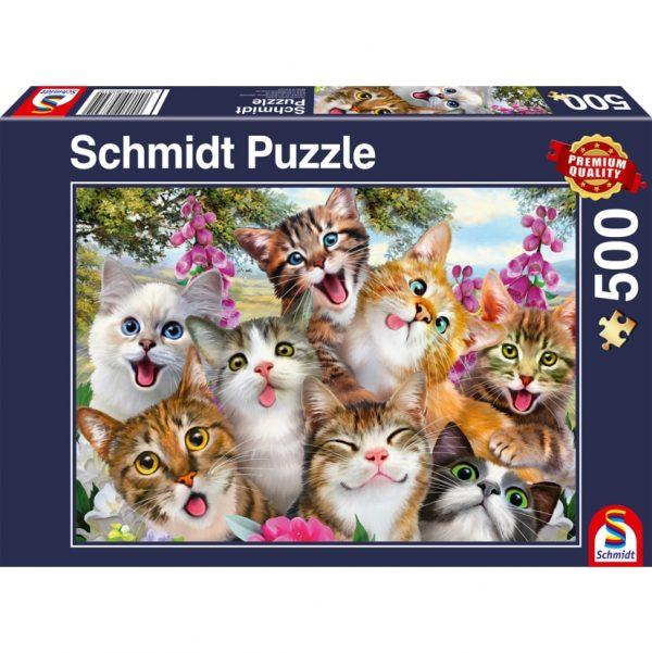 Cat Selfie Jigsaw