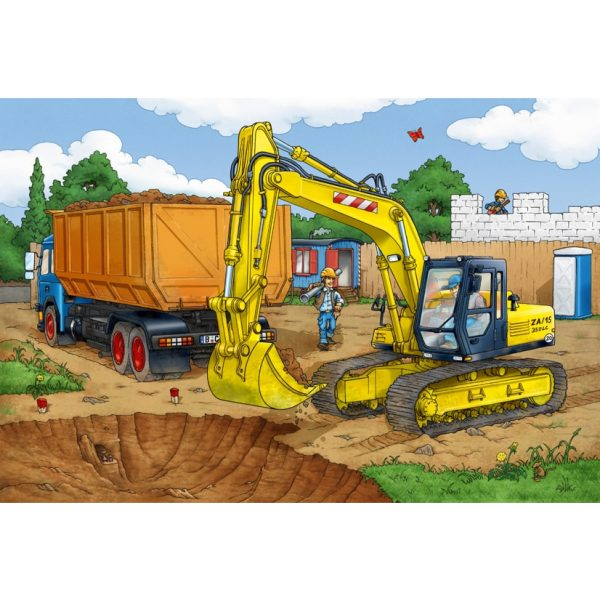 Digger Puzzle and Play Jigsaw