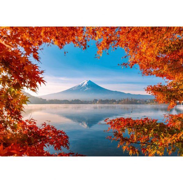 Fuji in Autumn Jigsaw