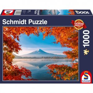 Fuji in Autumn Jigsaw