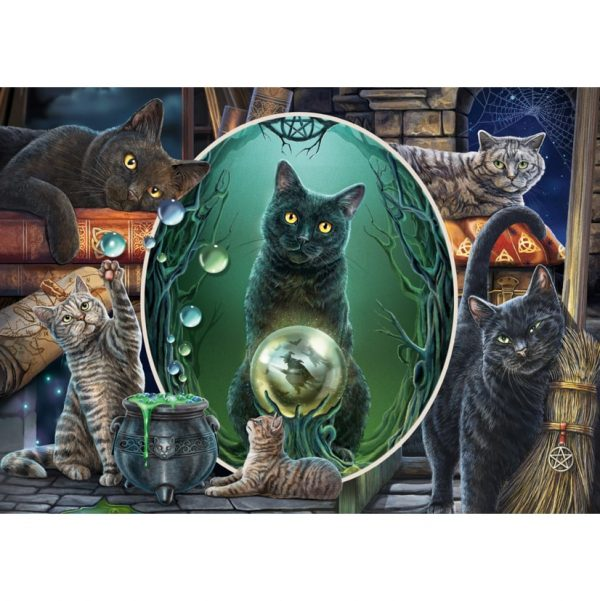 Lisa Parker, Mystical Cats Jigsaw