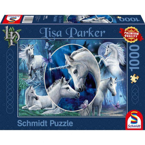 Lisa Parker, Mythical Unicorns Jigsaw