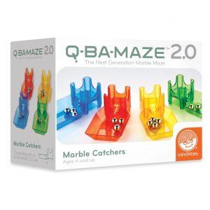Q-BA-Maze Marble Catchers Construction Toy