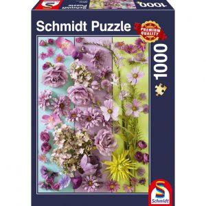 Violet Flowers Jigsaw