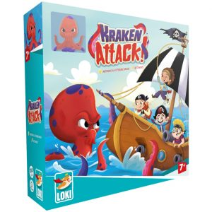 Kraken Attack Children's Board Game